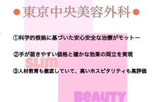 東京中央美容外科の特徴